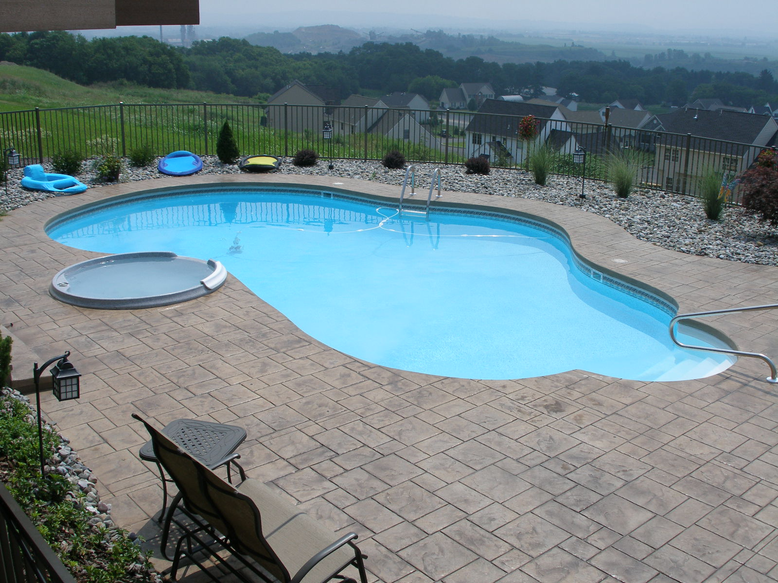 Pa inground pool contractor pool financing fiberglass for Pool financing