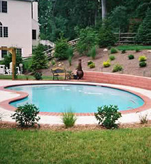 Pa inground pool builder pool designs fiberglass pools for Northeastern pool